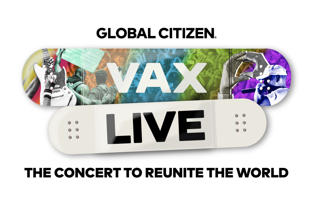 'Vax Live: The concert to reunite the world'.