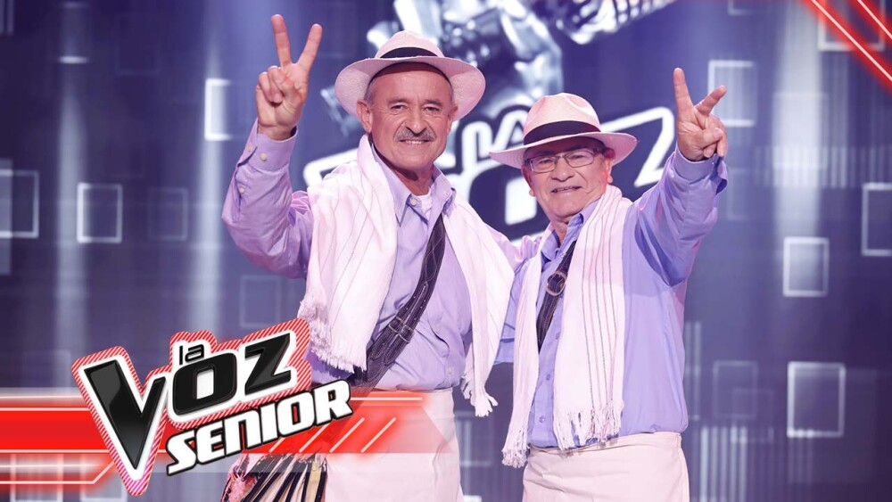 Con sabor andino, Jesús y Diomar conquistaron el escenario de La Voz Senior