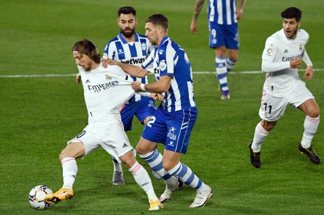 Real Madrid vs Alavés