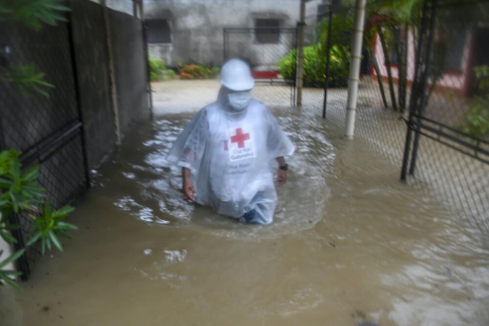 Huracán Eta en Guatemala / AFP