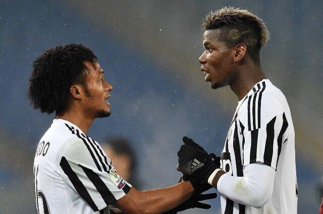 333969_Juan Guillermo Cuadrado y Paul Pogba fueron compañeros en Juventus