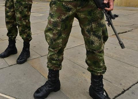Militar, soldado, ejercicio militares, Foto: Referencia AFP