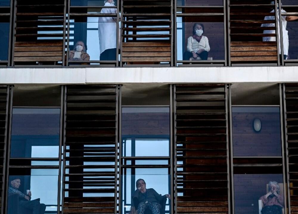 Confinamiento por coronavirus // Foto: AFP