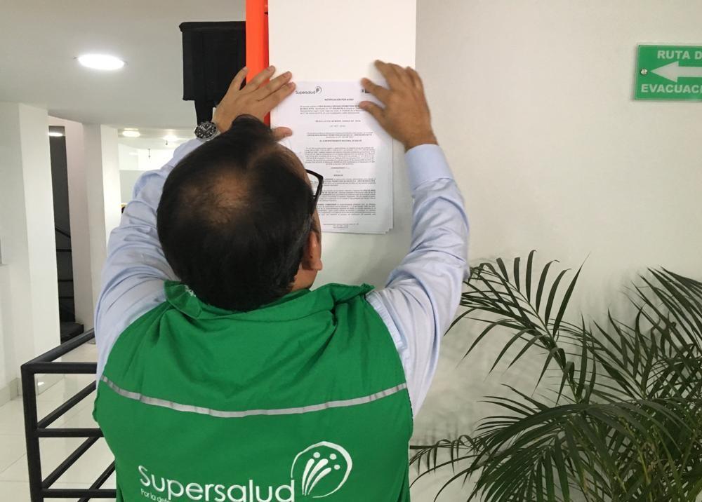 345274_BLU Radio. SuperSalud ordena liquidación total de EPS Cruz Blanca. Foto: SuperSalud