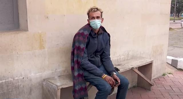 Luis Hernández, el reciclador que encontró a niña perdida en fría noche de Bogotá