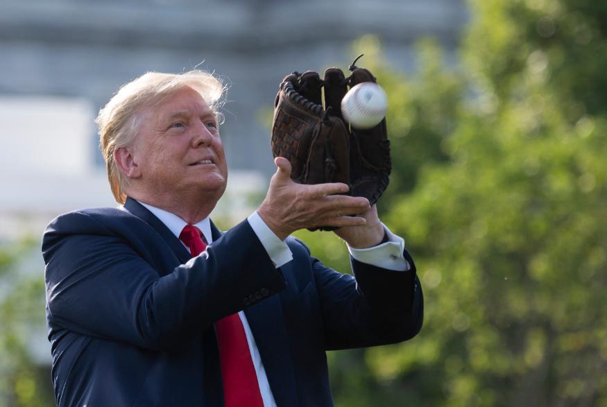Donald Trump quiere boicotear las Grandes Ligas.