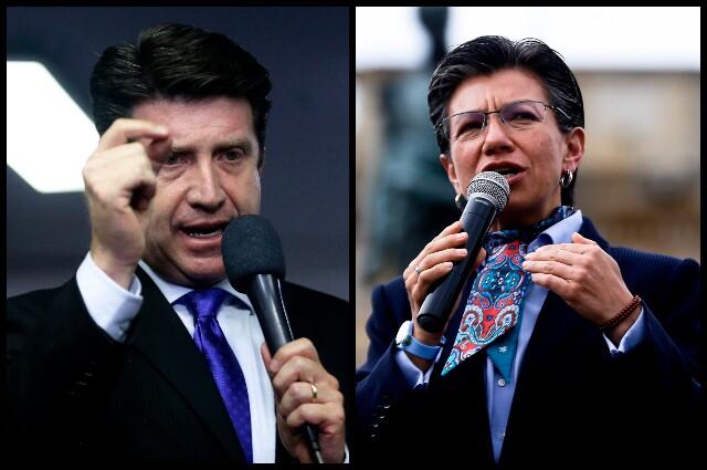 Diego Molano vs. Claudia López