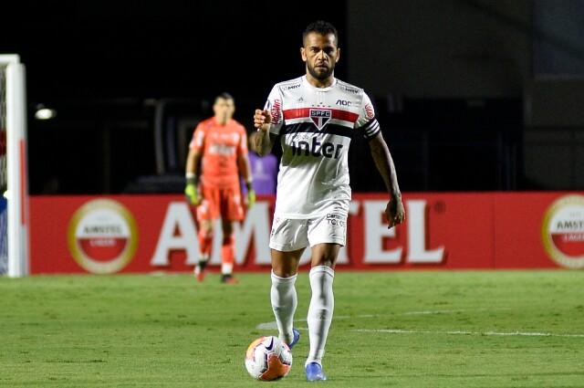 Dani Alves, jugador del Sao Paulo