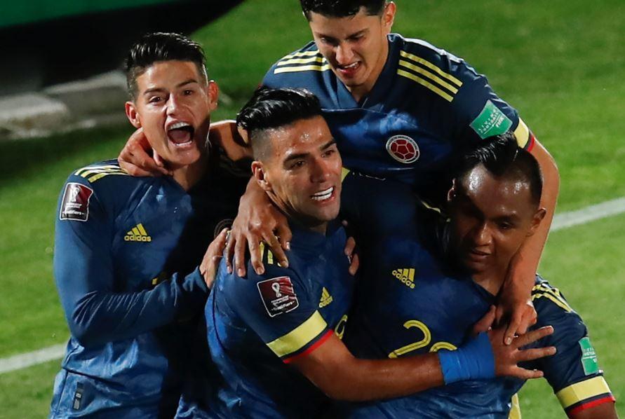 Gol de Falcao ante Chile
