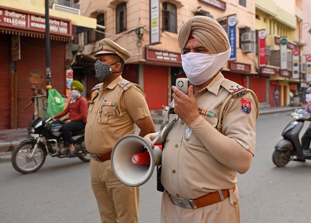 Coronavirus en India Foto AFP.jpg