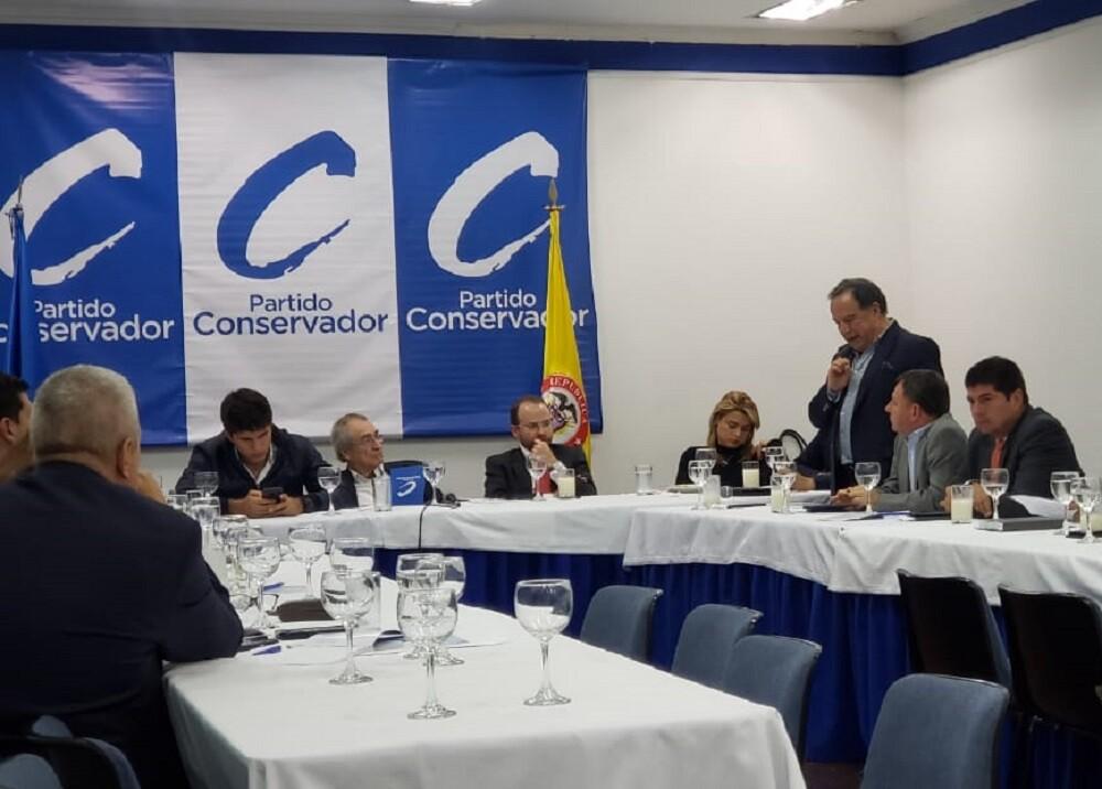 339145_BLU Radio. Partido Conservador // Foto: Partido Conservador