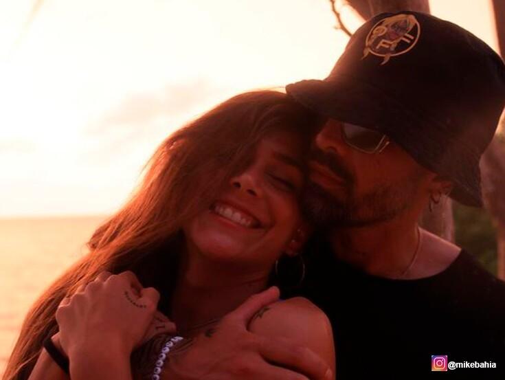 Mike Bahía y Greeicy Rendón son una de las parejas favoritas de los colombianos en las redes sociales