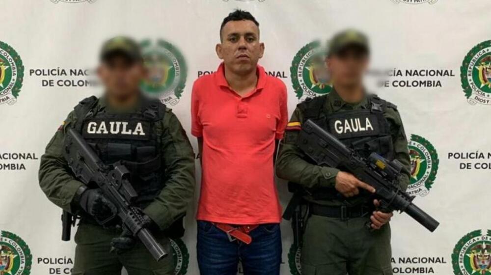 372608_BLU Radio //Dency Jesús Escorcia Rojas, conocido con el alias de 'Visaje'.// Foto: Archivo Policía