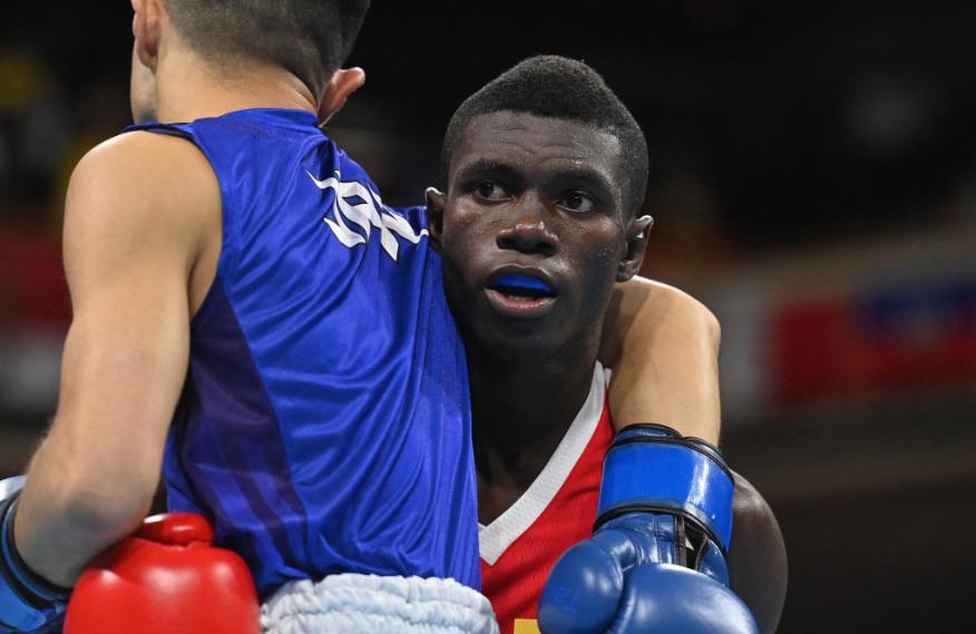 Yuberjen Martínez quedó eliminado en el boxeo de los Juegos Olímpicos Tokio 2020.