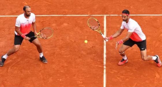 Juan Sebastián Cabal y Robert Farah debutaron con victoria en el ATP 500 de Barcelona. Getty Images.