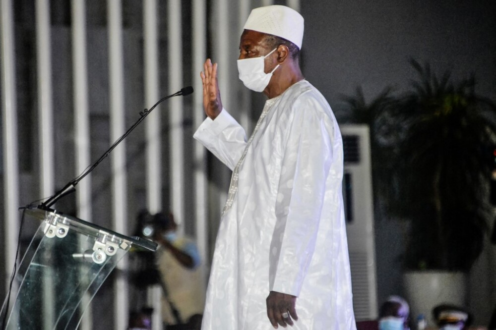 Fuerzas especiales en Guinea aseguran haber detenido al presidente Alpha Condé