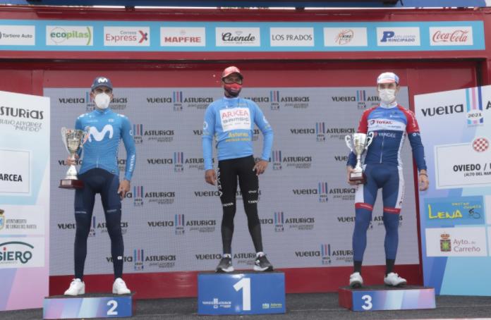 Nairo Quintana se quedó con el título de la Vuelta a Asturias.