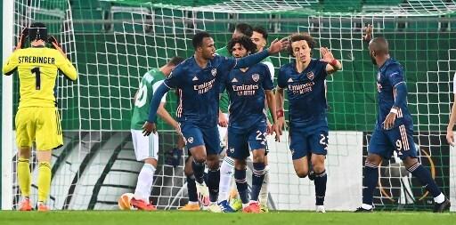 Arsenal vs Rapid Viena