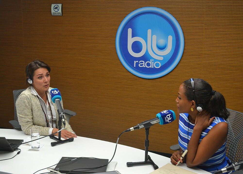 144621_Silvia Corzo - Foto: Blu Radio