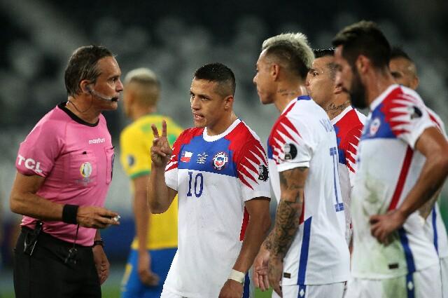 Polémicas en Brasil vs. Chile