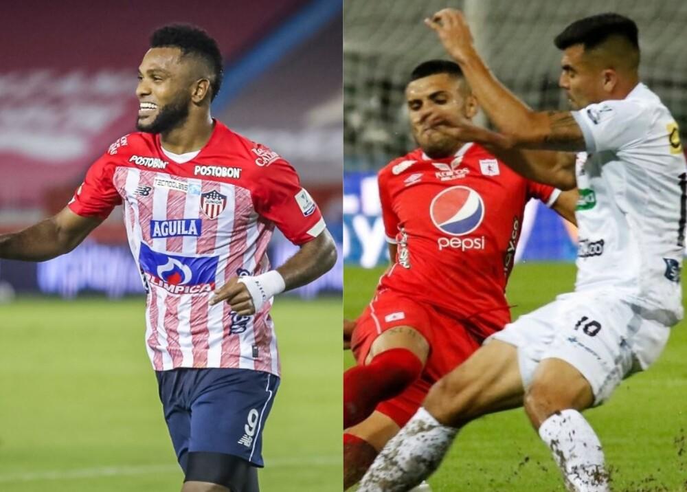 Junior vs Pereira y Once Caldas vs América Foto DIMAYOR.jpg