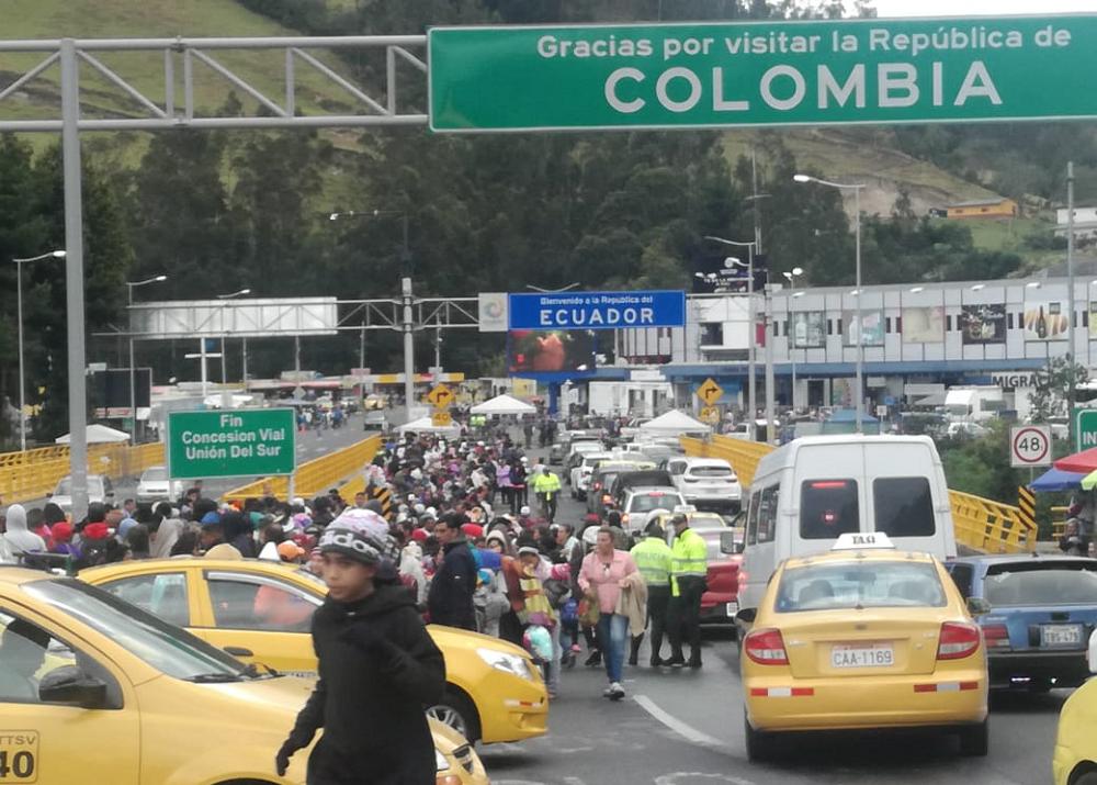 341874_BLU Radio. Inmigrantes venezolanos / Foto: Secretaría de Gobierno de Ipiales