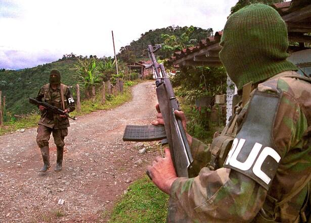 Paramilitares de las AUC