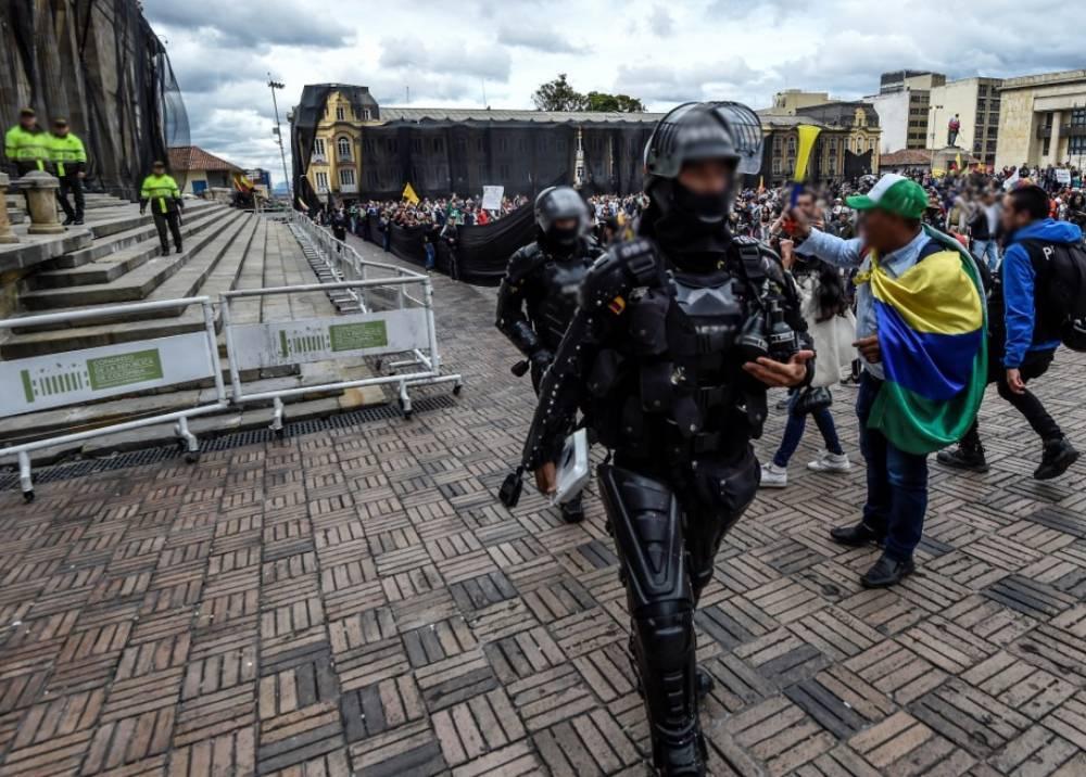 Protesta en Colombia - Esmad