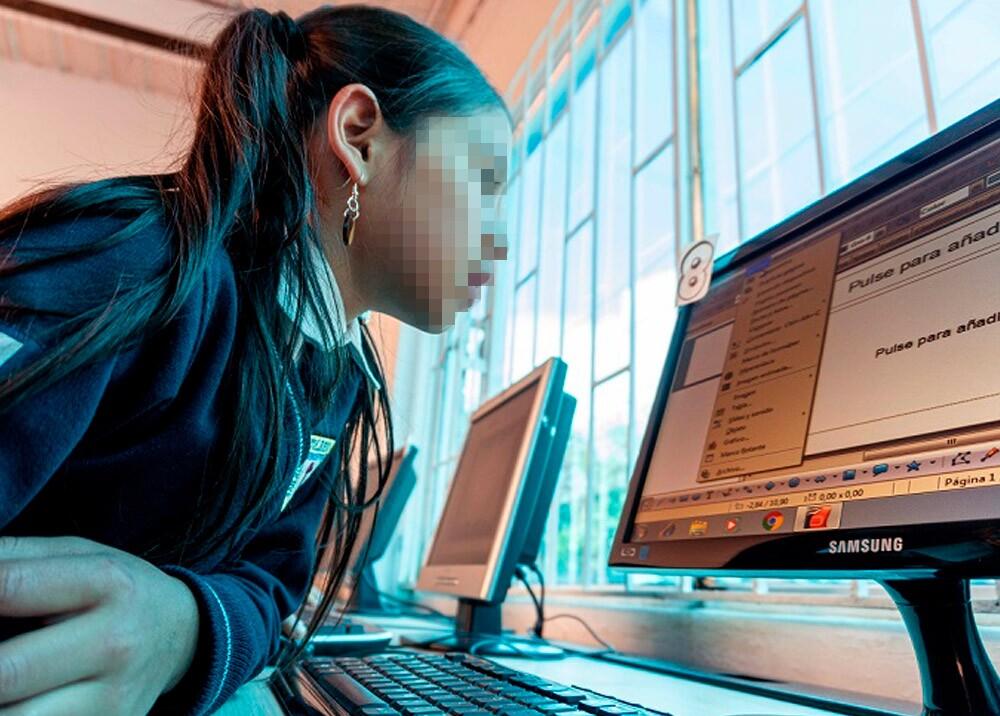 361002_Educación virtual // Foto: MinEducación, imagen de referencia