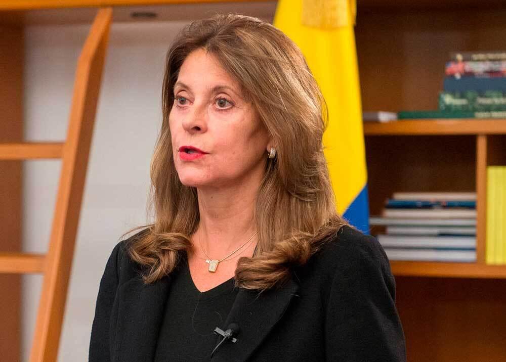 329283_BLU Radio // Marta Lucía Ramírez, vicepresidenta colombiana // Foto: Vicepresidencia