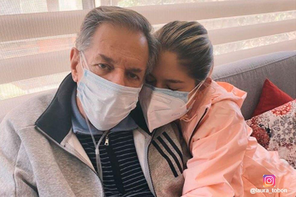 Laura Tobón y su padre Jairo Tobón