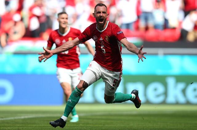 Gol de Hungría contra Francia