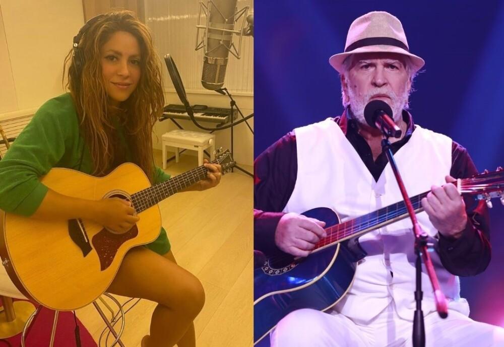 Javier recordó en La Voz Senior cuando le ganó a Shakira en un concurso.