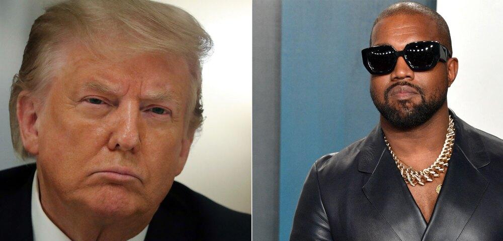 647574_Foto Donald Trump: Chip Somodevilla. Foto Kanye West: George Pimentel // Getty Images.