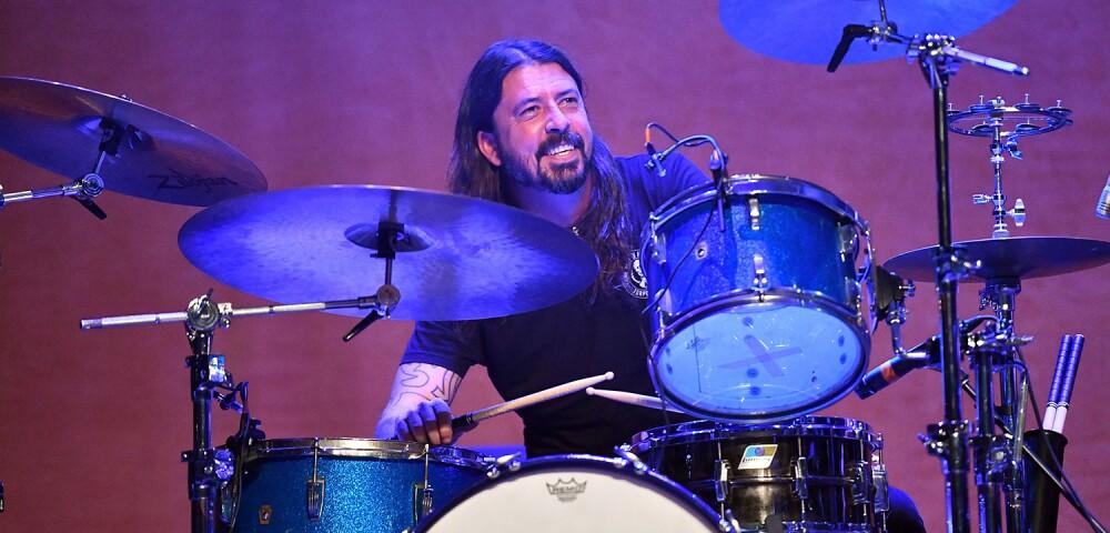 Dave Grohl: miembro de bandas como Nirvana y Foo Fighters.
