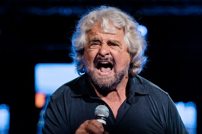 Beppe Grillo defiende hijo acusado de violacion_afp