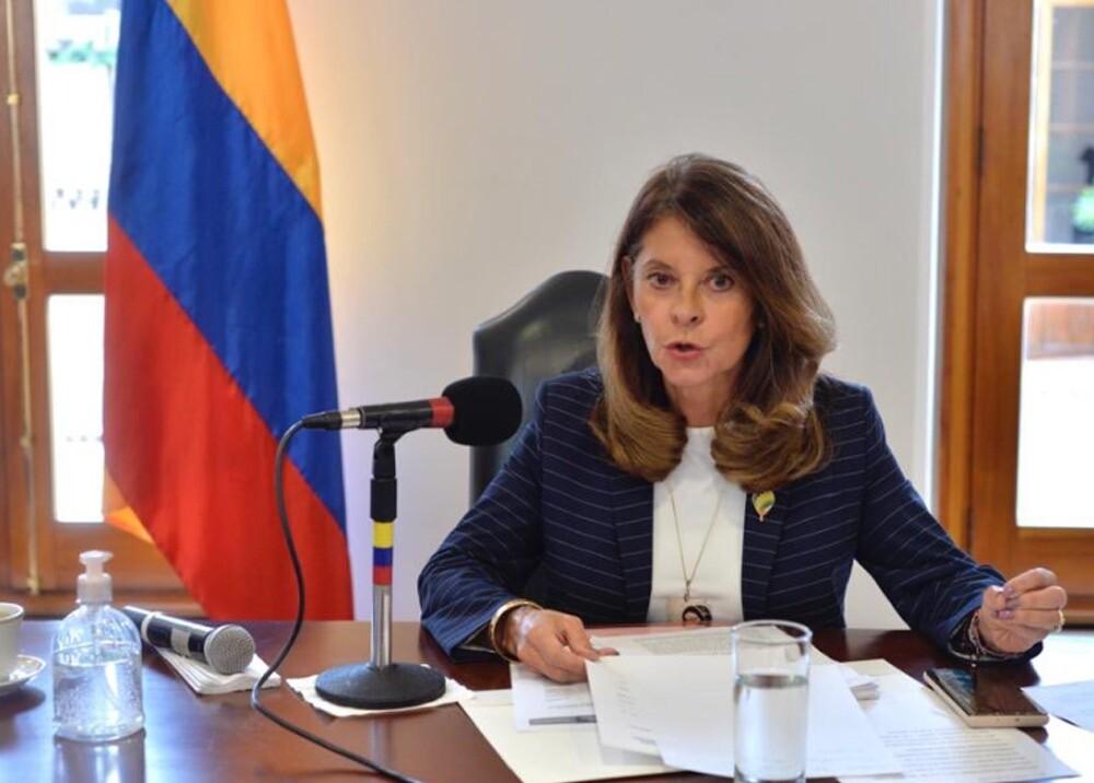 Marta Lucía Ramírez. Foto: prensa Marta Lucía Ramírez