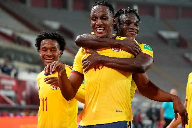 Selección Colombia para las Eliminatorias Sudamericanas