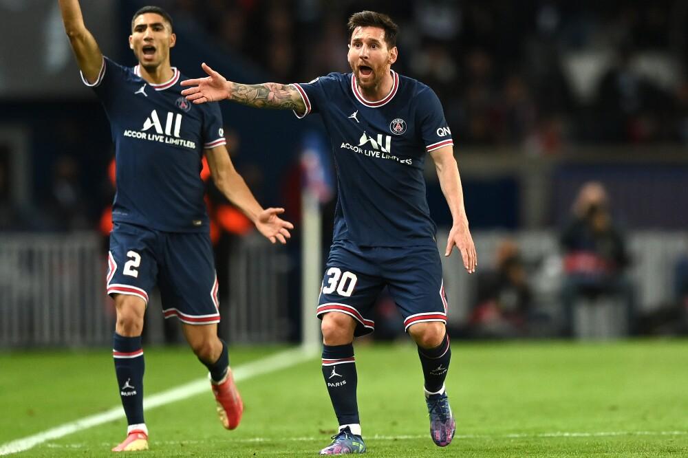 Lionel Messi, contra Manchester City, anotó su primer gol con PSG