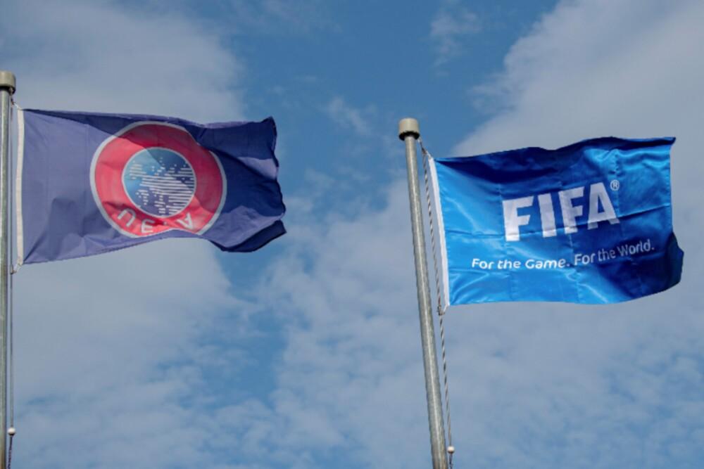 UEFA FIFA Logos 061220 AFP E.jpg