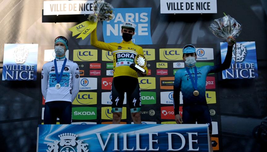 Maximilian Schachmann se coronó campeón de la París-Niza 2021