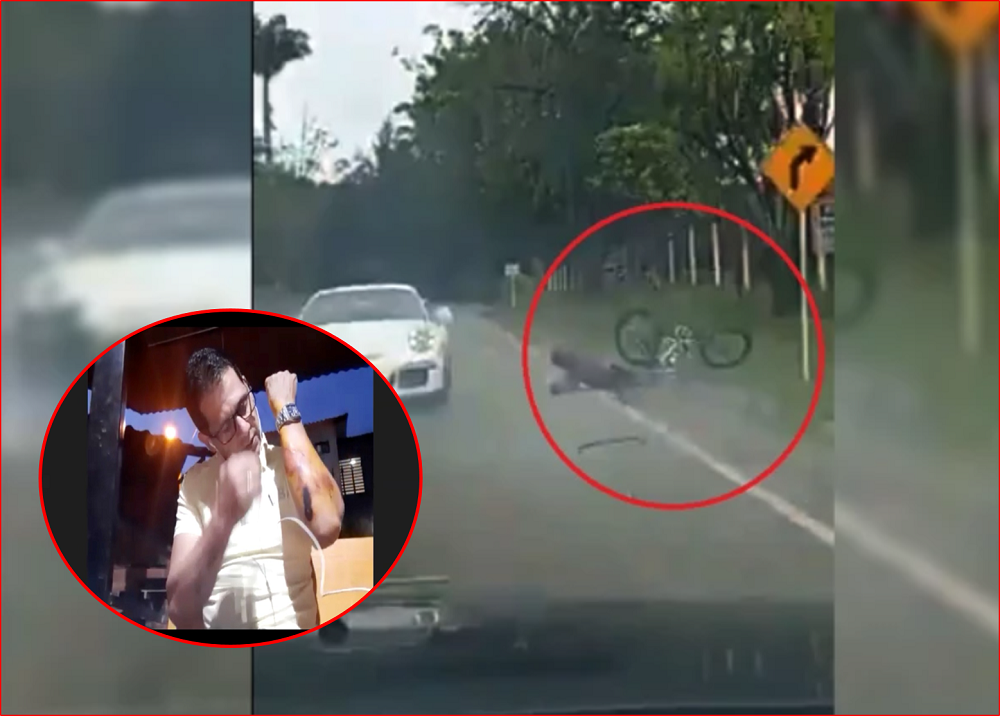 Jaime Lizcano, ciclista arrollado por carro de alta gama en Santander / Foto: suministrada