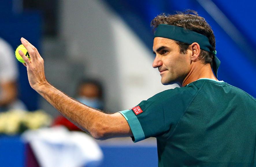 Roger Federer regresó en el ATP 250 de Doha.