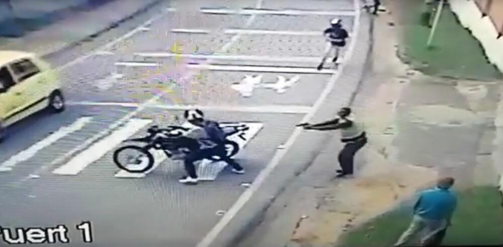 Policía evita fleto en Bello, Antioquia.jpg