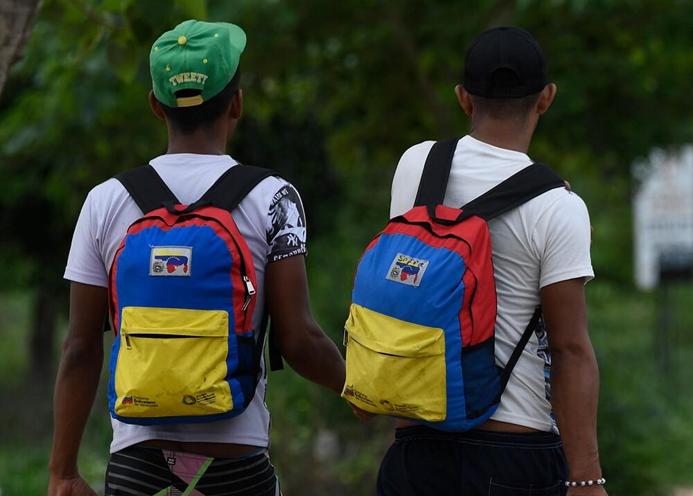 347844_Cuidadanos venezolanos // Foto: AFP