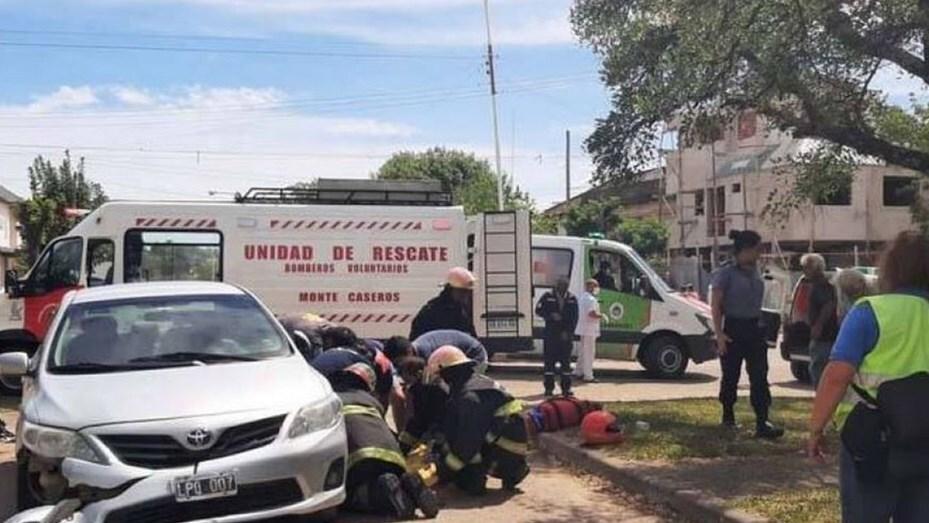 Accidente en Argentina