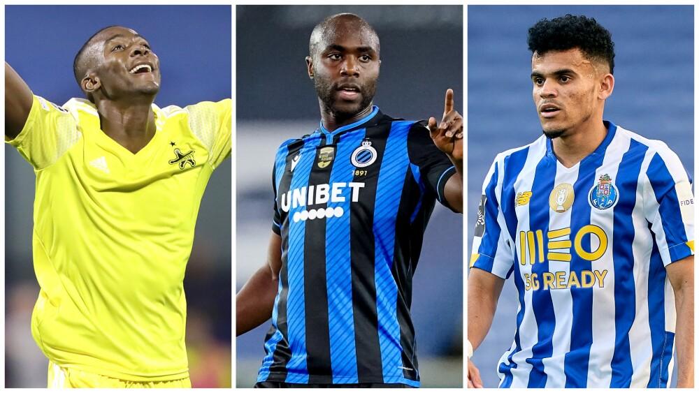 Jugadores colombianos, en Champions League 2021/2022