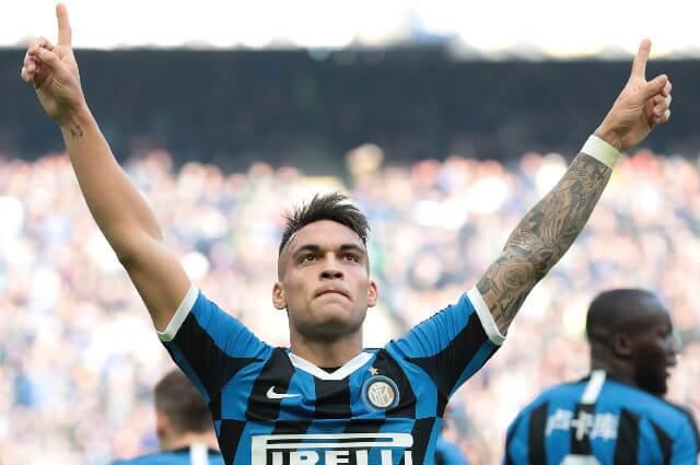 Lautaro Martínez, jugador del Inter