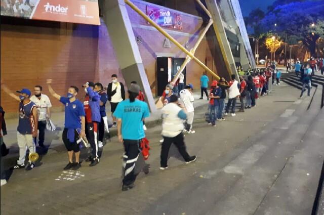 Hinchas del Independiente Medellín