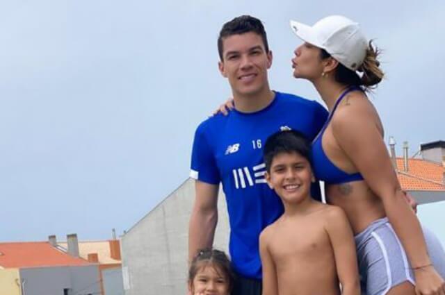 Mateus Uribe y Cindy Álvarez